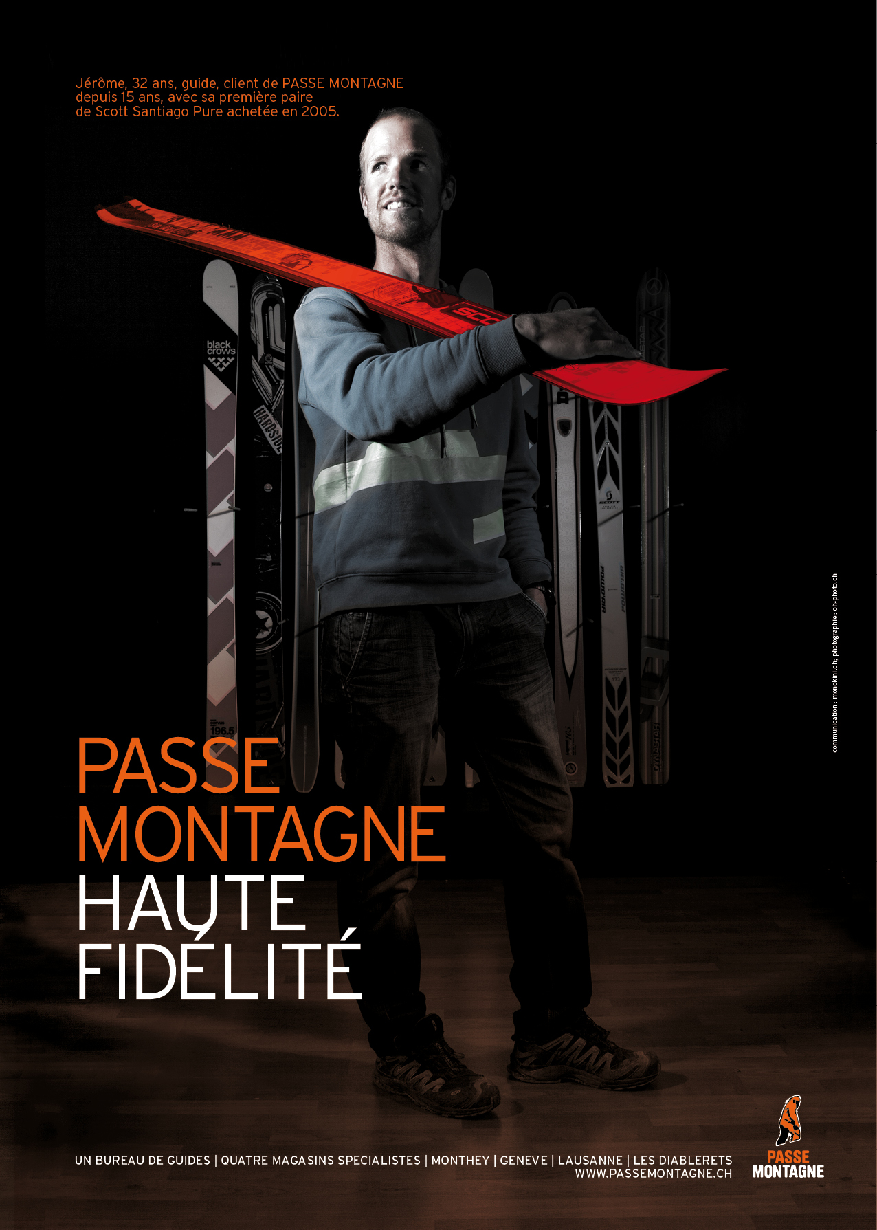 2014 - passe-montagne - Advertising campaign